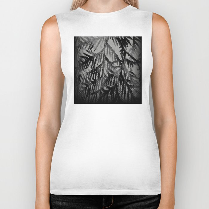 Tree | Trees | Beyond The Trees | Cedar Branches Biker Tank