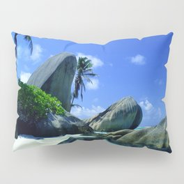 Seychelles Islands: Tropical Heaven Pillow Sham