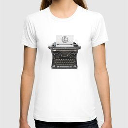writing while you type... T-shirt