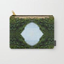 Green Kaleidoscope Carry-All Pouch