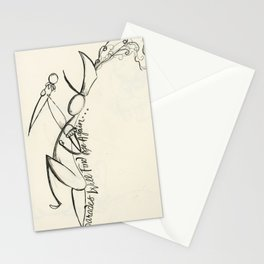 """""""If you wander, Parades will find you"""" Stationery Cards"""