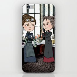 Woman in Science: The Curies iPhone Skin