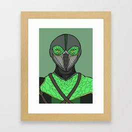 The Walking Serpent Framed Art Print