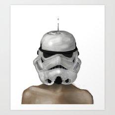 Droptrooper Art Print