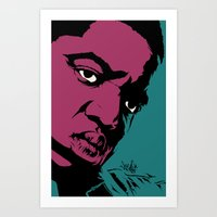 notorious Art Prints featuring Notorious by Vee Ladwa