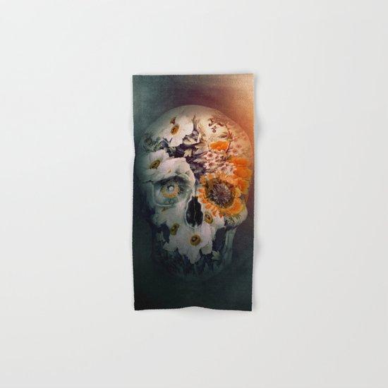 Skull Still Life II Hand & Bath Towel