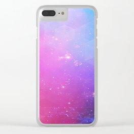 rainbow visor Clear iPhone Case