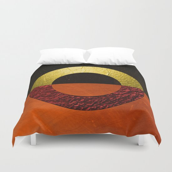 Abstract #112 Duvet Cover