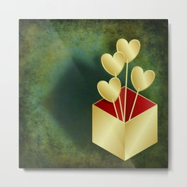 Presenting you my hearts Metal Print