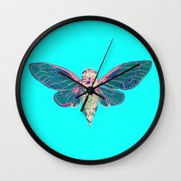 Flying Cicada Wall Clock