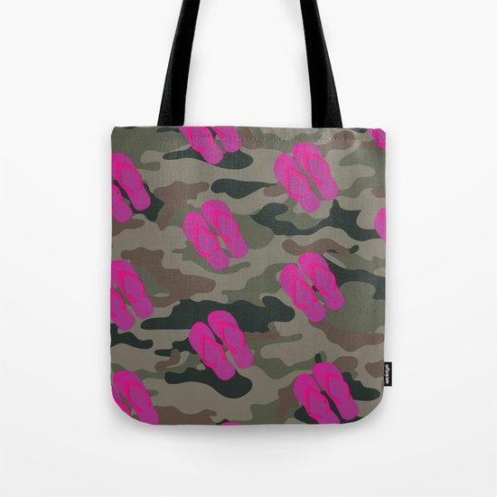 I saw Cady Heron wearing army pants and flip flops ... - quote from Mean Girls Tote Bag
