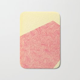 - summer : the monolith is pink - Bath Mat