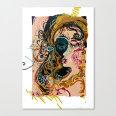 danae and shower of gold Canvas Print
