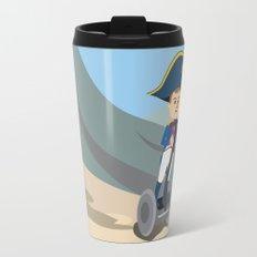 Napoleon Segways the Alps Travel Mug