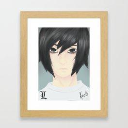 Elle Lawliet Framed Art Print
