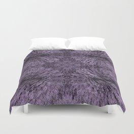 Mandala Motion Purple Duvet Cover