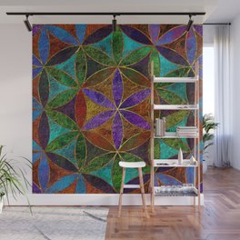 The Flower of Life (Sacred Geometry) 2 Wall Mural