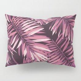 Rose palm leaves Pillow Sham