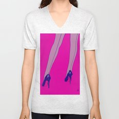 shoes 6 Unisex V-Neck