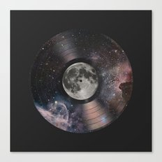 L.P. (Lunar Phonograph) Canvas Print