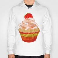 cupcakes Hoodies featuring Cupcakes by Alexandra Baker