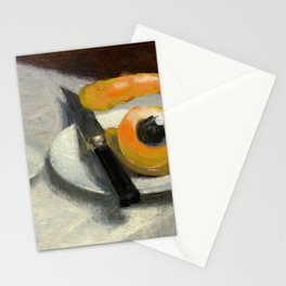 still life with eye Stationery Cards