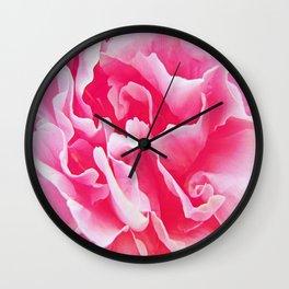 Pfingstrose in Pink Wall Clock