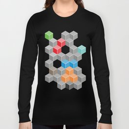 Isometric confusion Long Sleeve T-shirt
