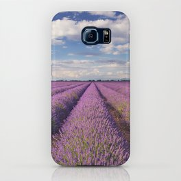 Blooming fields of lavender in the Provence, southern France iPhone Case
