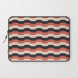 Geometric waves Laptop Sleeve
