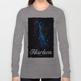 Harlem, El Barrio Long Sleeve T-shirt