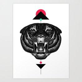 Roar My *--Tiger--* Art Print