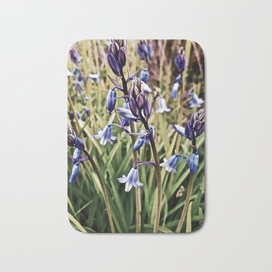 Bluebells, Magical Flowers Of Spells Bath Mat