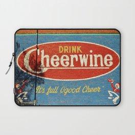 Cheerwine Sign 2 Laptop Sleeve
