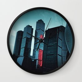 Moscow City Wall Clock