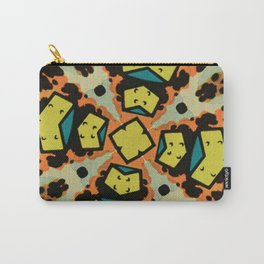 Comic Explosion Print Carry-All Pouch