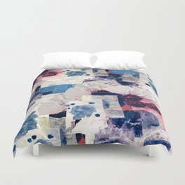 patchy collage Duvet Cover