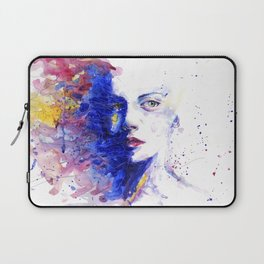 Colourful painting of women Laptop Sleeve