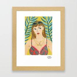 Summer Bummer by Veronique de Jong Framed Art Print