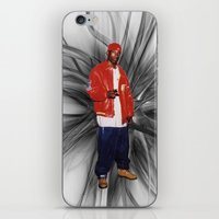 2pac iPhone & iPod Skins featuring Big L  by Gold Blood