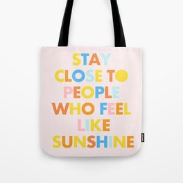 Sunshine People Tote Bag