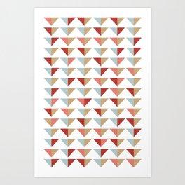 Tribico Art Print