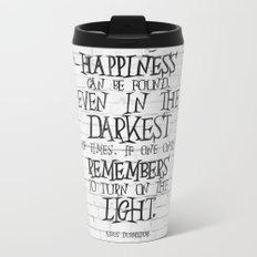 Albus Dumbledore Quote Inspirational Metal Travel Mug