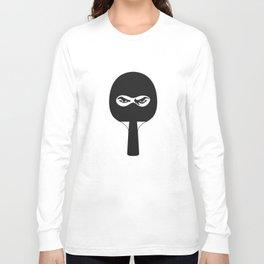 Ping Pong Ninja Long Sleeve T-shirt