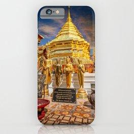 Phrathat Doi Suthep Temple Thailand iPhone Case