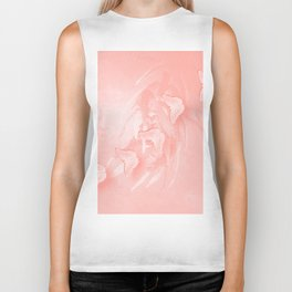Delicate butterflies and wattle Biker Tank