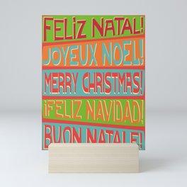 Christmas I Mini Art Print