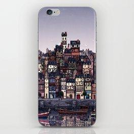 Fishing Village iPhone Skin
