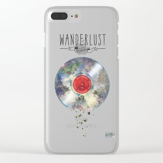 Wanderlust recordings Clear iPhone Case