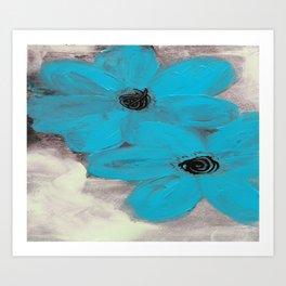 Moody Blues Art Print